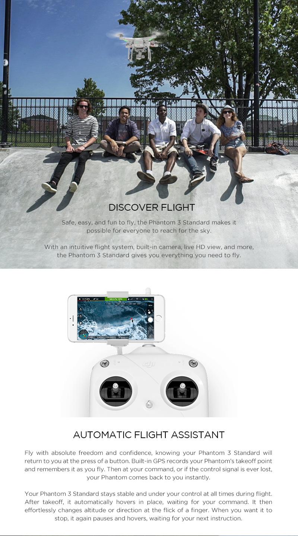 DJI Phantom 3 Standard - Quadcopters.co.uk
