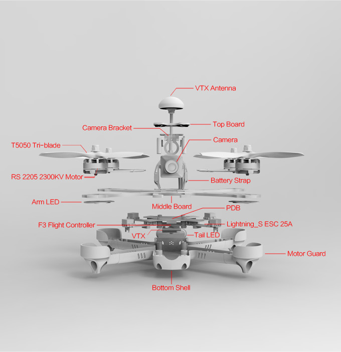 Emax 200 Pro Racing Drone UK - Quadcopters.co.uk