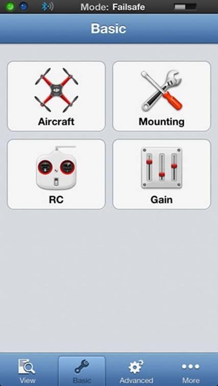 DJI Wookong M Bluetooth Led Module