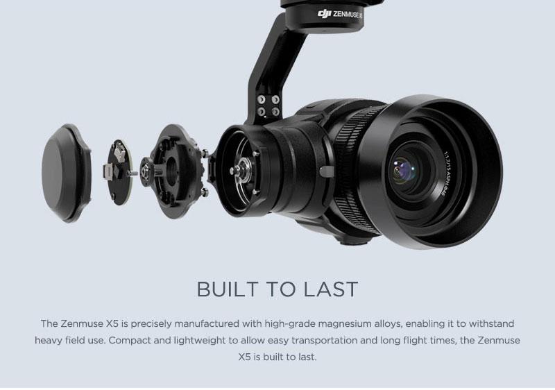 Quality Build of DJI Camera