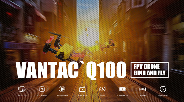 Frsky Vantac Q100 UK Stock - Quadcopters.co.uk