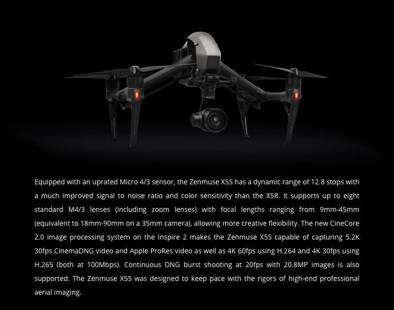 DJI Inspire 2 X5S Camera uk stock