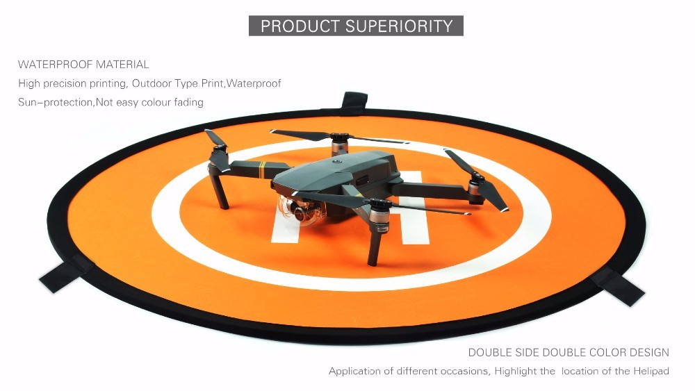 Drone Quadcopter Landing pad waterproof and reversible - Quadcopters.co.uk