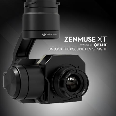 DJI XT Flir Camera UK Dealer