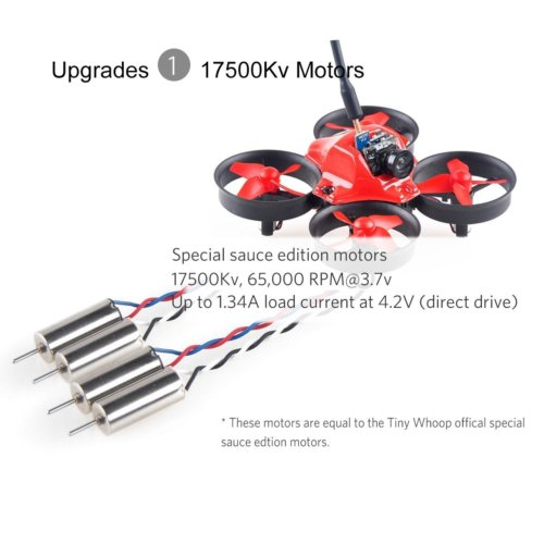 CrazePony MakerFire RTF Micro Tiny Whoop 007 Goggles - Quadcopters.co.uk
