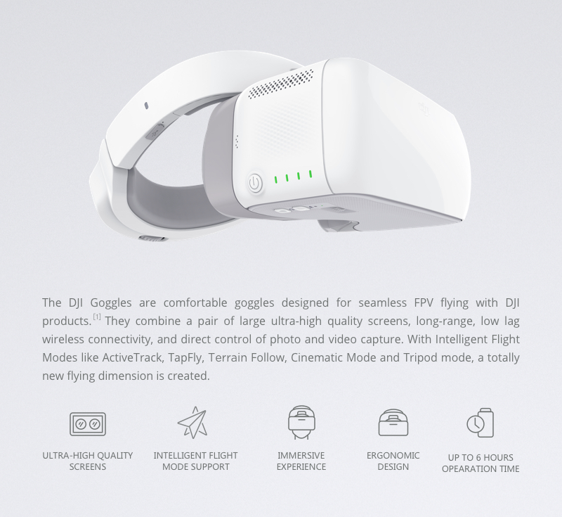 dji goggles hd uk dji store - quadcopters.co.uk