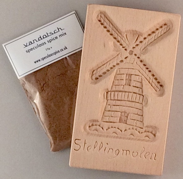 vandotsch Speculaas Spice Pack and Windmill Mould