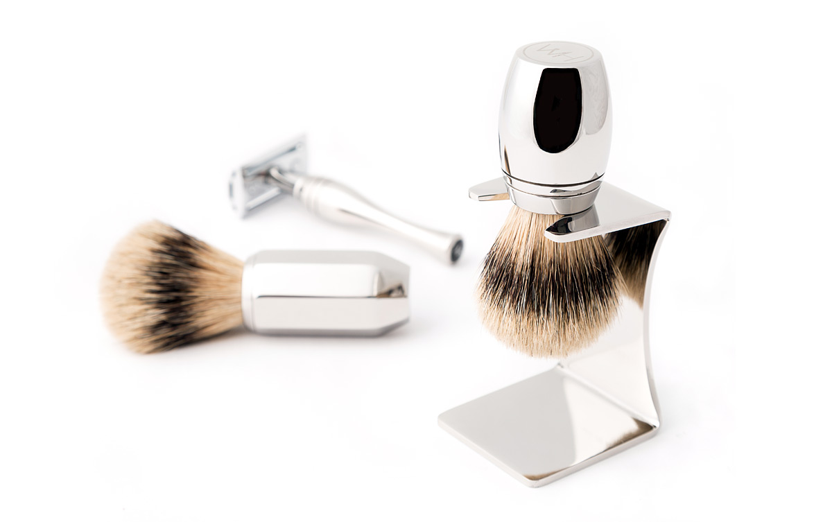 shaving brush drip stand