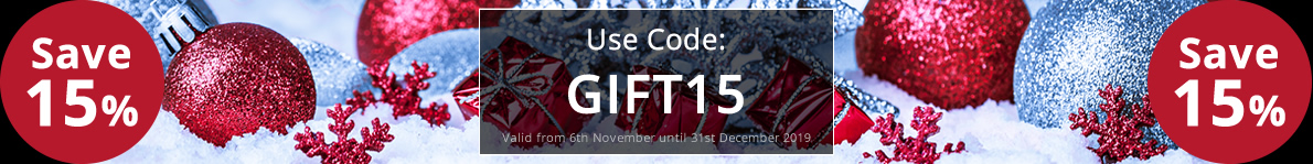 Save 15% with our discount code: GIFT15