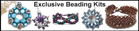 Crystals and Ice Bead Shop Exclusive Beading Kits
