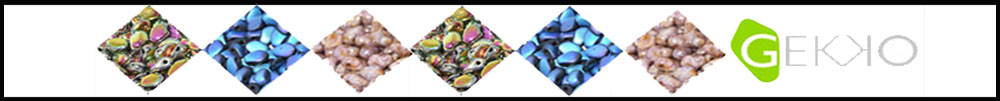 Gekko beads
