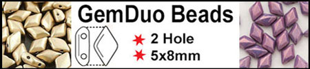 GemDuo Beads now in stock