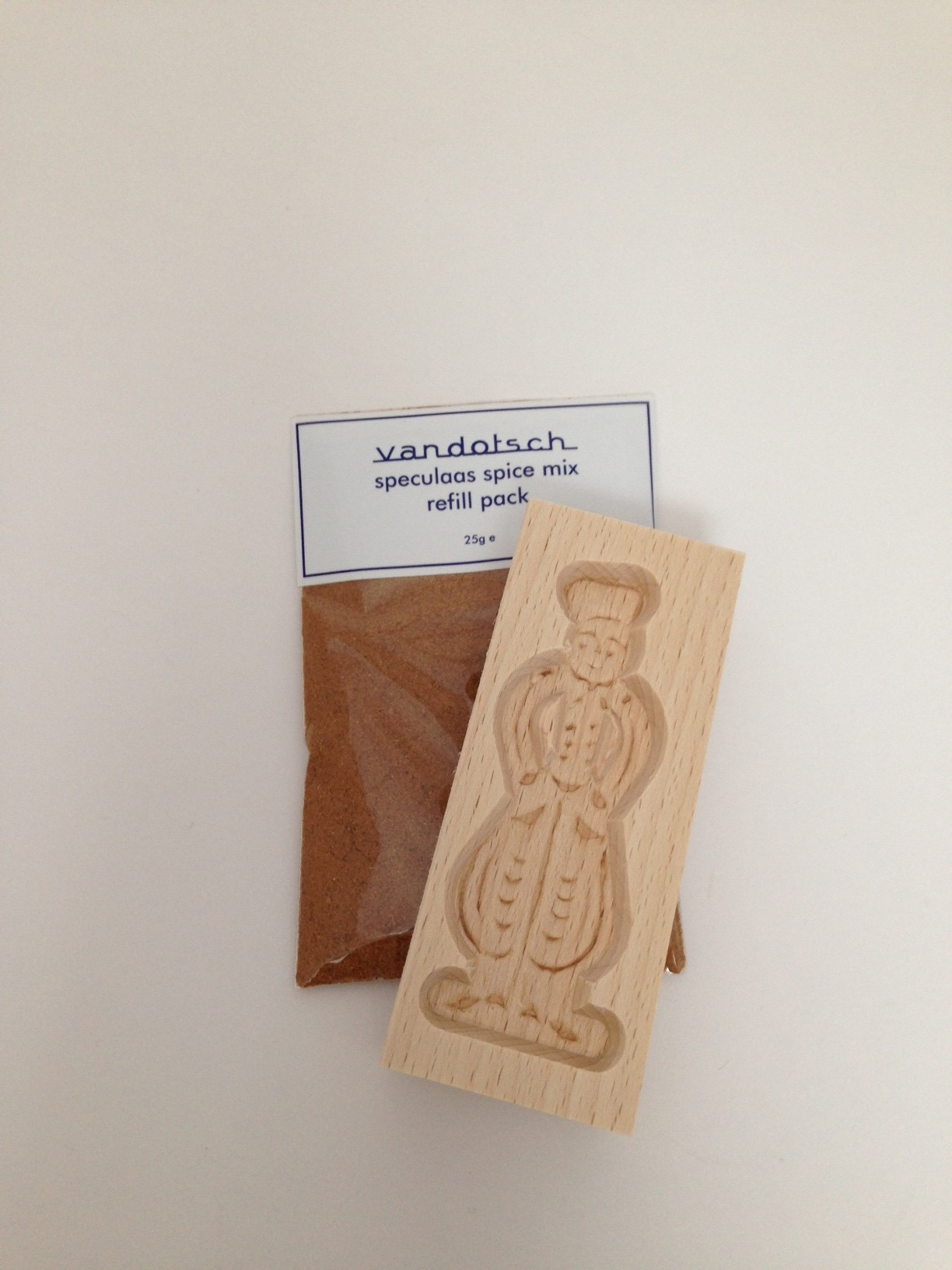 vandotsch Speculaas Spice Pack and Man Mould