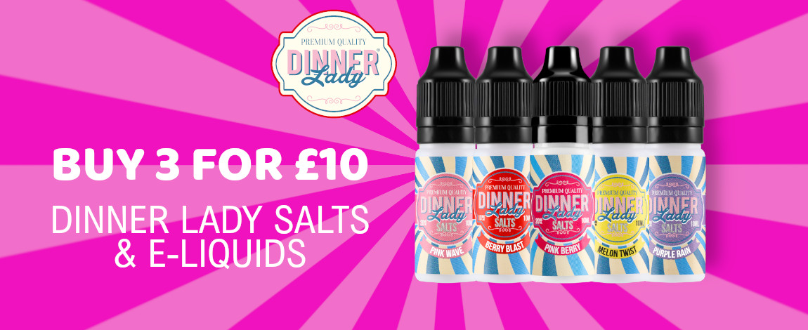 dinner lady salts and liquids 3 for £10
