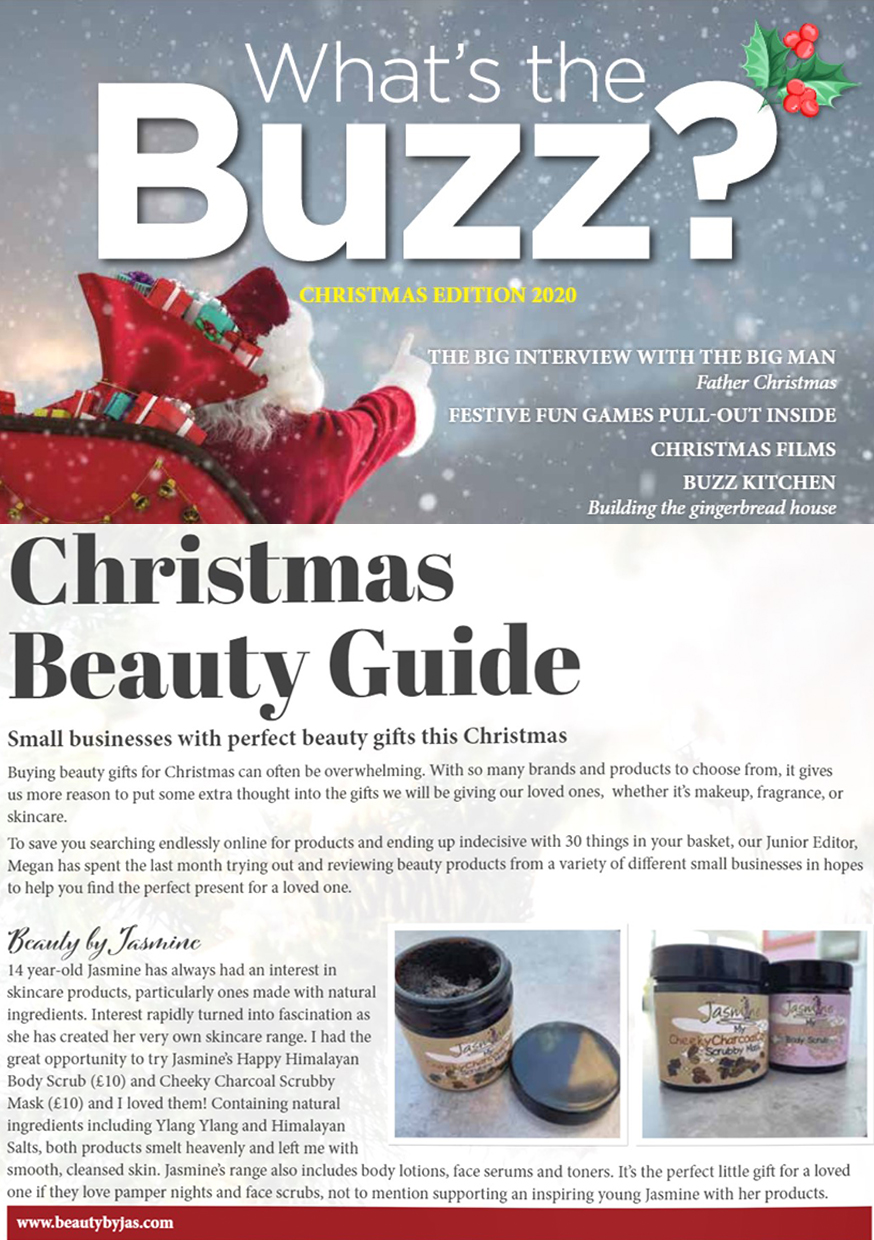What The Buzz Magazine - Dec 2020 - Christmas Beauty Guide