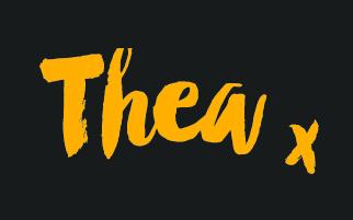 Thew x